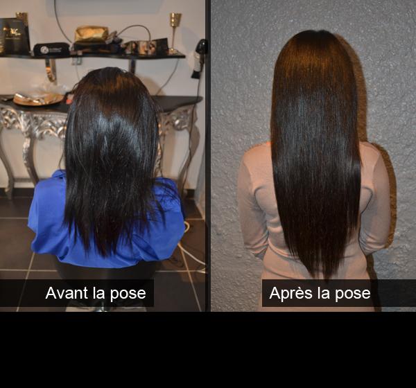 Célèbre Extension cheveux avant apres - Femmes sexy SU04